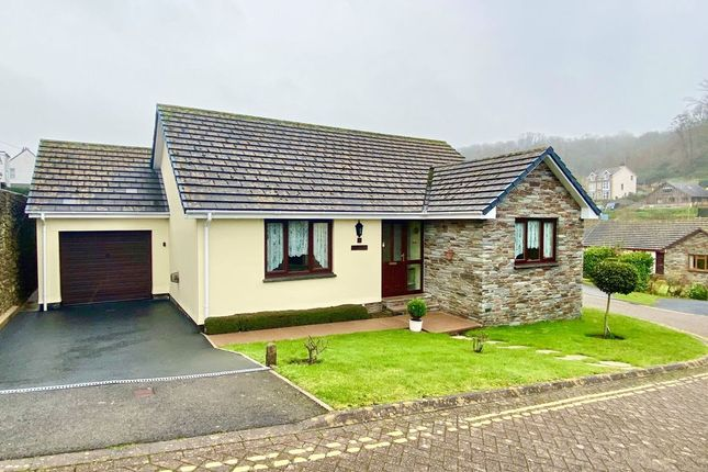 Thumbnail Detached bungalow for sale in Drapers Close, Combe Martin, Ilfracombe