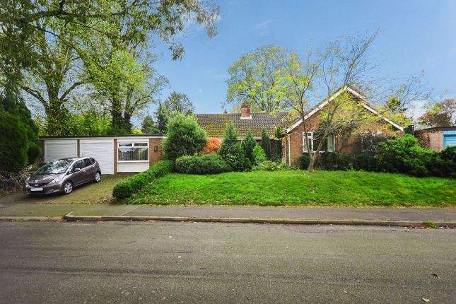 Thumbnail Bungalow for sale in Milton Gardens, Oadby, Leicester