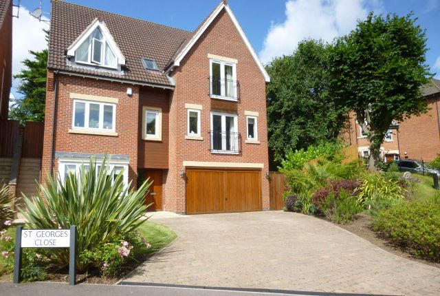 Thumbnail Detached house to rent in St. Georges Close, Allestree, Derby
