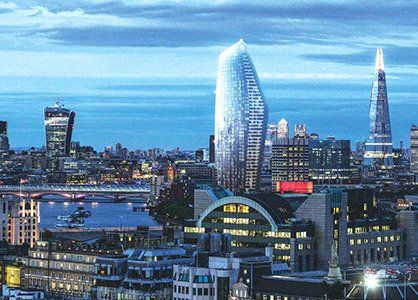 Thumbnail Flat for sale in One Blackfriars, Blackfriars, London