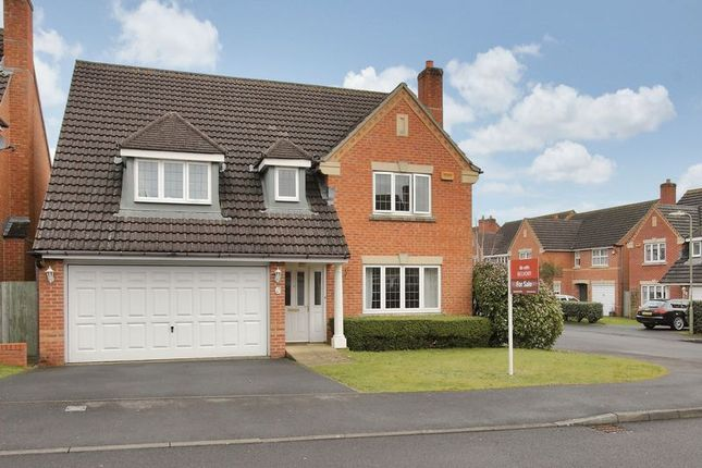Thumbnail Detached house for sale in St. Swithin Way, Andover