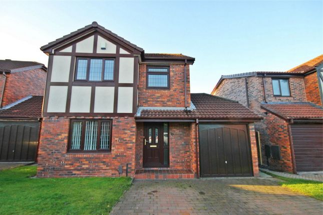 3 bed detached house for sale in Grant Close, Old Hall, Warrington