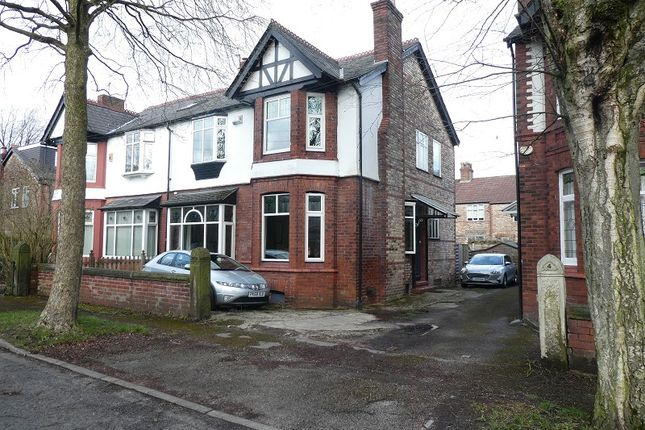 Semi-detached house for sale in Chelford Road, Old Trafford, Manchester.