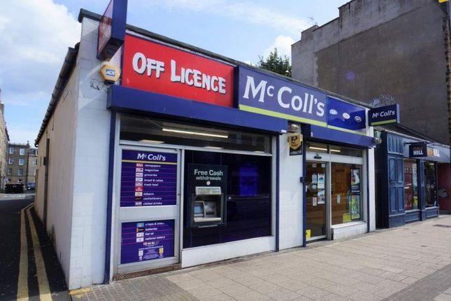 Thumbnail Retail premises for sale in Edinburgh, Midlotian