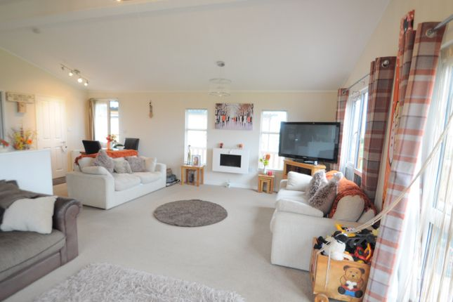 Thumbnail Lodge for sale in Sand Le Mere Southfield Lane, Tunstall, Hull