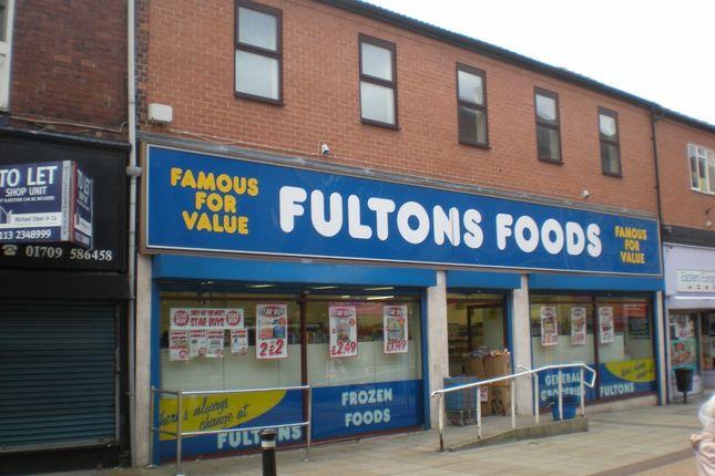 Thumbnail Retail premises for sale in High Street, Mexborough