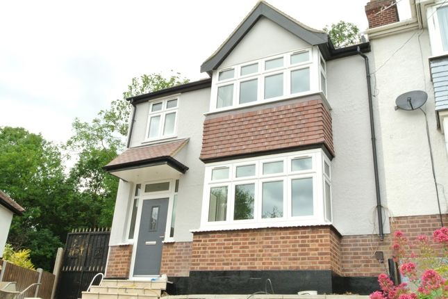 Thumbnail End terrace house to rent in Veda Road, London