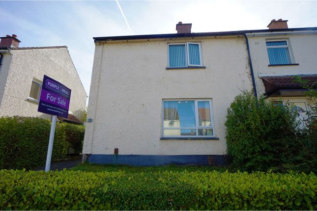 Thumbnail End terrace house for sale in West Link, Holywood