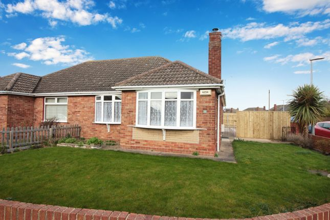 Thumbnail Semi-detached bungalow for sale in Philip Avenue, Cleethorpes, Lincolnshire, Parts Of Lindsey