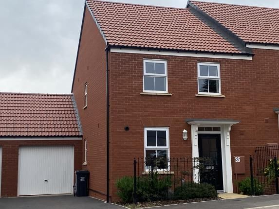 Thumbnail Semi-detached house for sale in Penleigh Road, Wells