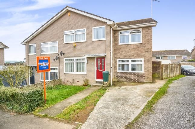 Thumbnail Semi-detached house for sale in Torpoint, Cornwall, Torpoint