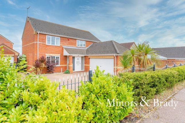 Thumbnail Detached house to rent in Skippon Way, Thorpe St. Andrew, Norwich