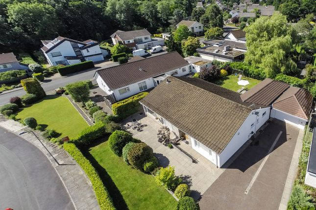 Thumbnail Detached bungalow for sale in Millwood, Lisvane, Cardiff
