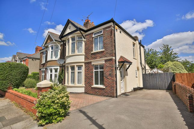 Thumbnail Semi-detached house for sale in Maes-Y-Coed Road, Heath, Cardiff