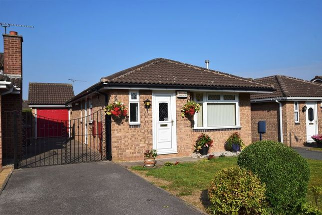 Thumbnail Detached bungalow for sale in Oak Road, Grassmoor, Chesterfield
