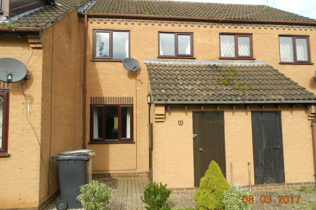 Thumbnail Terraced house to rent in Willow Close, Uppingham