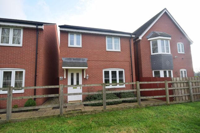 Thumbnail Detached house for sale in Harris Croft, Wem, Shrewsbury