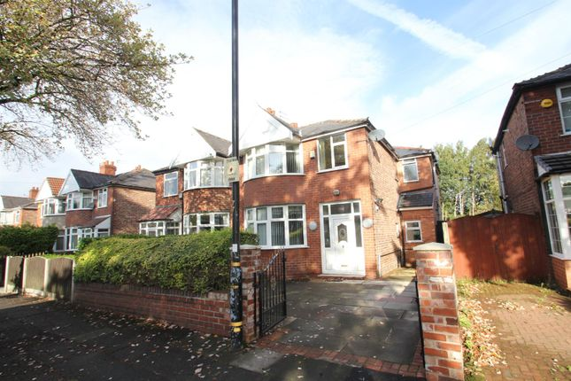 Thumbnail Semi-detached house for sale in Kings Road, Stretford, Manchester
