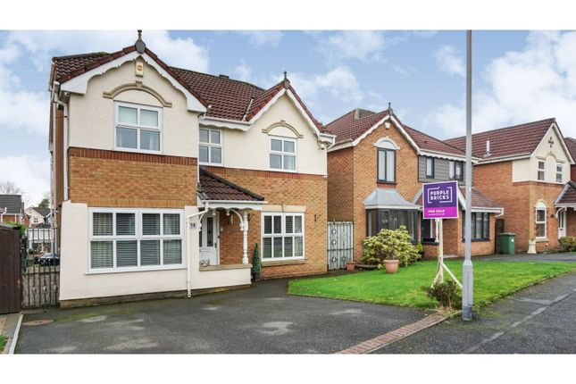 Thumbnail Detached house for sale in Hunter Drive, Radcliffe, Manchester