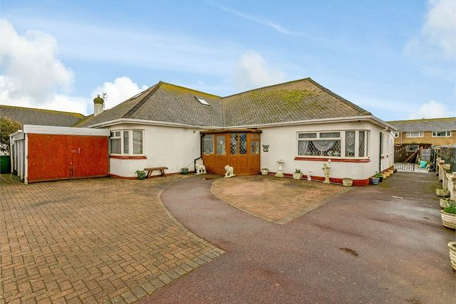Thumbnail Detached bungalow for sale in South Coast Road, Telscombe Cliffs, Peacehaven, East Sussex