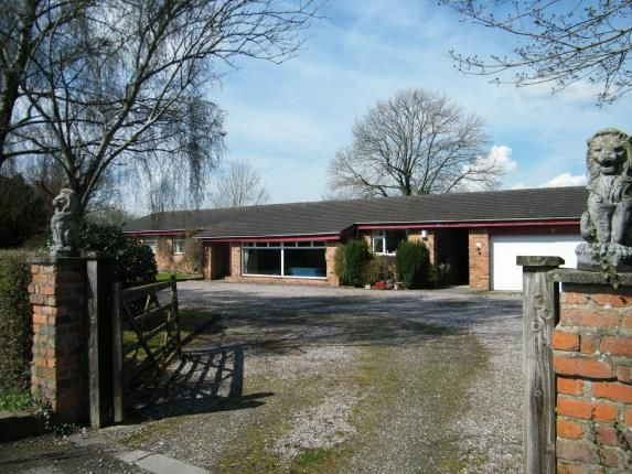 Thumbnail Bungalow for sale in Whatcroft Hall Lane, Northwich, Cheshire