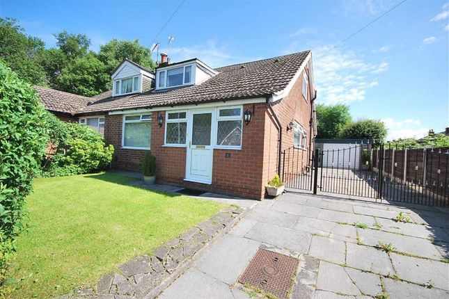 Thumbnail Semi-detached bungalow for sale in Endsley Avenue, Walkden, Manchester