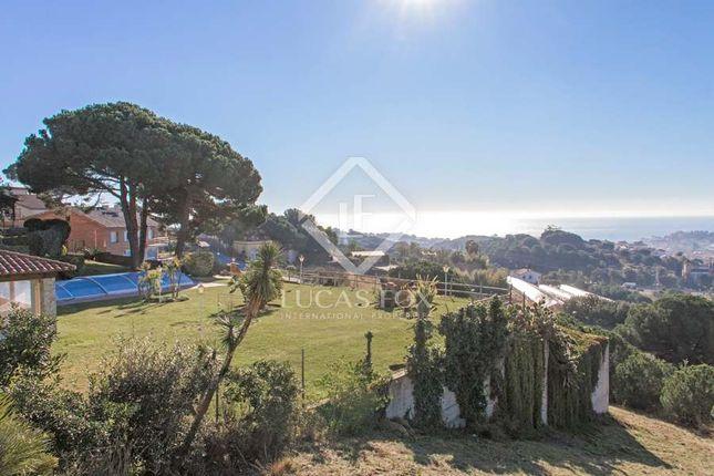Thumbnail Villa for sale in Spain, Barcelona North Coast (Maresme), Arenys De Munt, Lfs7119