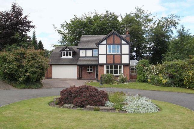 Thumbnail Detached house for sale in Pembroke Drive, Newcastle-Under-Lyme