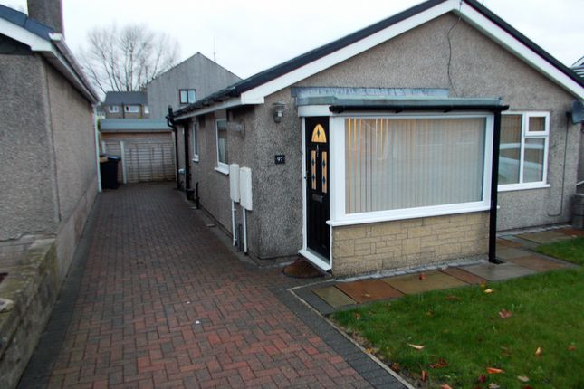 Thumbnail Bungalow to rent in Bigland Drive, Ulverston