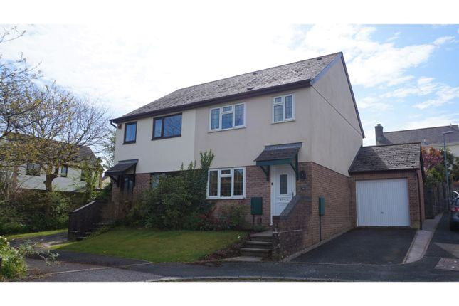 Thumbnail Semi-detached house for sale in Smithfield Drive, Saltash