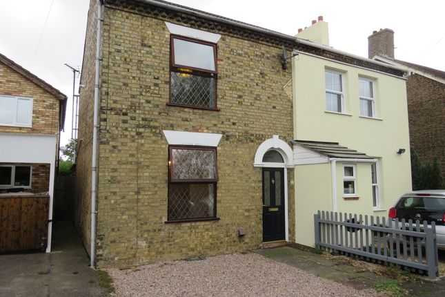 Thumbnail Semi-detached house for sale in Norwood Road, March