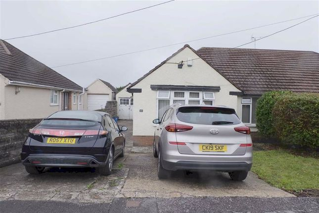 Thumbnail Semi-detached bungalow for sale in Pencoedtre Road, Barry, Vale Of Glamorgan