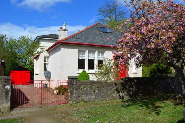 Thumbnail Detached bungalow for sale in Colquhoun Street, Helensburgh, Argyll & Bute