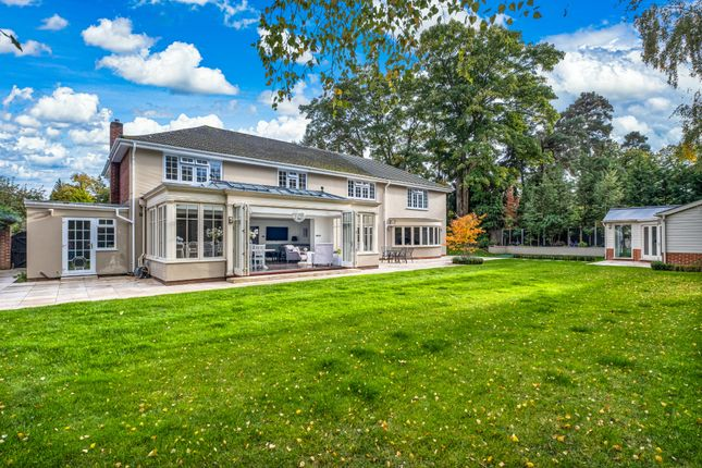 Thumbnail Detached house for sale in Dorincourt, Pyrford, Woking