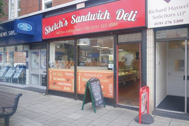 Commercial property for sale in Sketch's Sandwich Deli, 262 Chillingham Road, Heaton