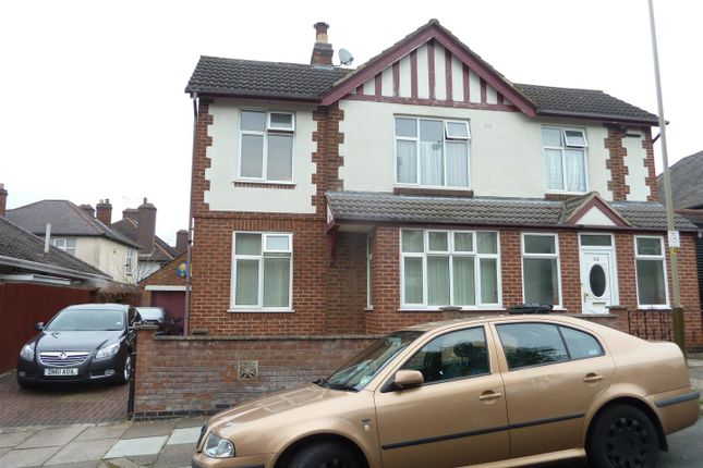 Thumbnail Detached house to rent in Dulverton Road, West End, Leicester