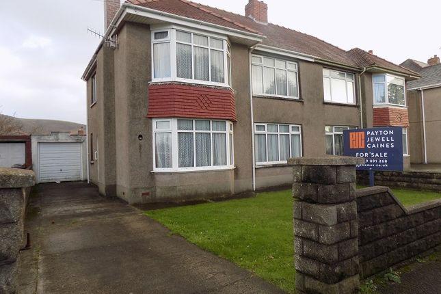 Thumbnail Semi-detached house for sale in Vivian Park Drive, Port Talbot, Neath Port Talbot.