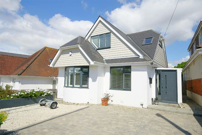 Thumbnail Detached house for sale in Woodstock Road, Whitecliff, Poole
