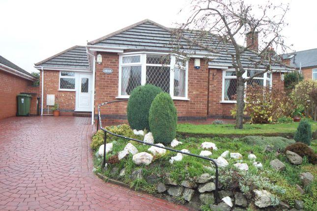 Thumbnail Detached bungalow for sale in School Lane, Wolvey, Hinckley