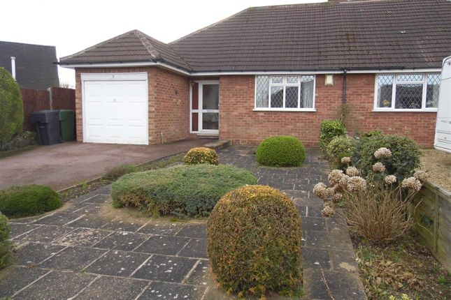 Thumbnail Semi-detached bungalow for sale in Manor Road, Wythall, Birmingham