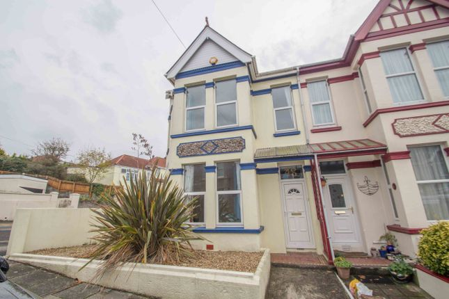 Thumbnail End terrace house for sale in Ganna Park Road, Plymouth