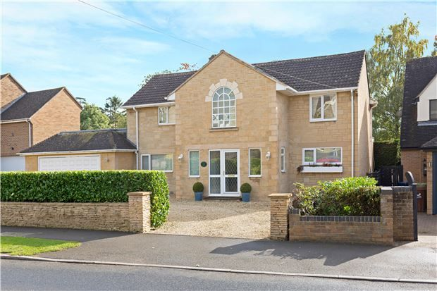 Thumbnail Detached house for sale in Southlawn Southam Lane, Southam, Cheltenham, Gloucestershire