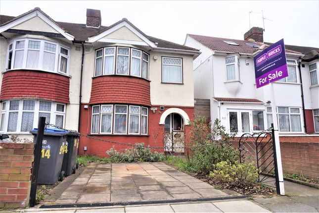Thumbnail End terrace house for sale in Great Cambridge Road, Enfield