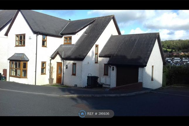 Thumbnail Detached house to rent in Y Berllan, Conwy