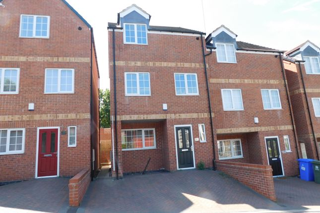 Thumbnail Town house to rent in Skerry Hill, Mansfield, Notts