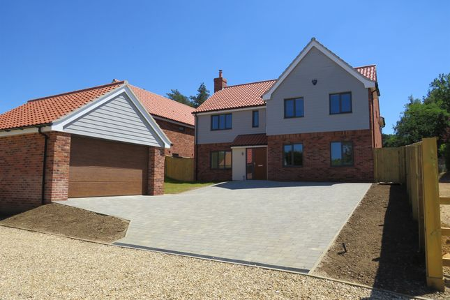 Thumbnail Detached house for sale in Wormegay Road, Blackborough End, King's Lynn