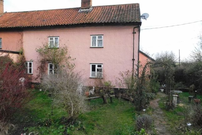 Thumbnail Cottage for sale in Tannery Road, Combs, Stowmarket