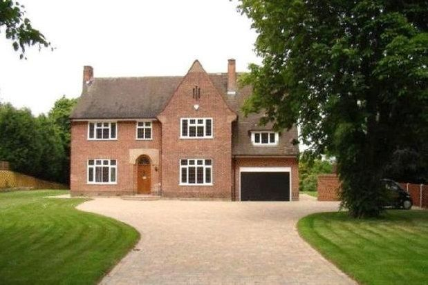 Thumbnail Detached house to rent in Adams Hill, Derby Road, Wollaton, Nottingham