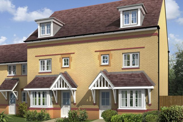 """Thumbnail Terraced house for sale in """"Woodbridge"""" at Ponds Court Business, Genesis Way, Consett"""