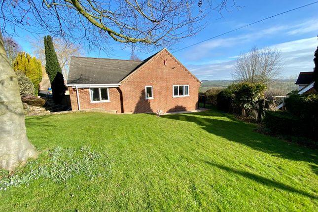 Thumbnail Detached bungalow for sale in Hill Close, Turnditch, Belper